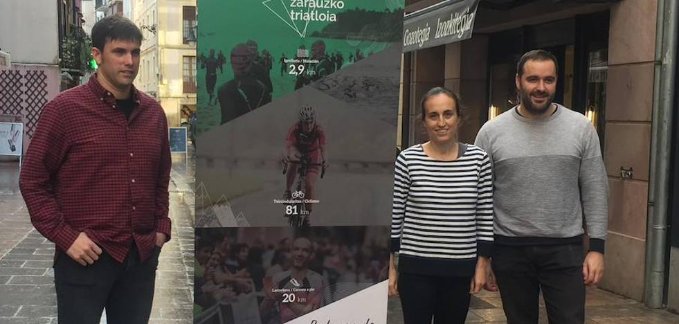 Zarauzko Triatloia aumenta la participación femenina en un 58%