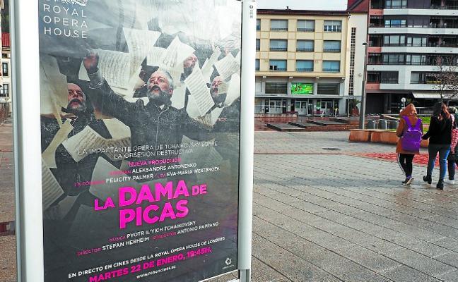 El Zelai retoma las retransmisiones de ópera con 'La dama de picas'