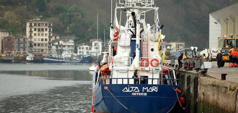 Deniegan el permiso para zarpar hacia al Mediterráneo al 'Aita Mari'