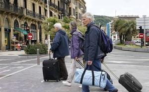 Los turistas protagonizan el 40% del gasto presencial en Gipuzkoa