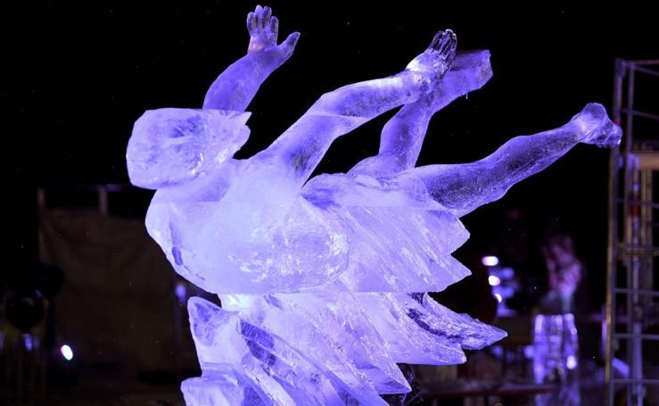 Esculturas de hielo
