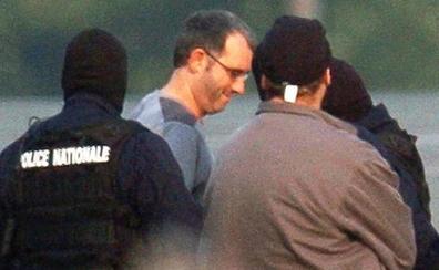 'Mikel Antza', en un centro de retención en París tras dejar la cárcel al cumplir condena