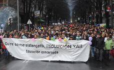 Uriarte se pregunta «qué hay más allá del conflicto laboral en la red concertada»