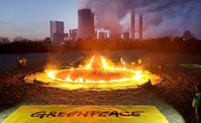 Greenpeace, contra las centrales térmicas