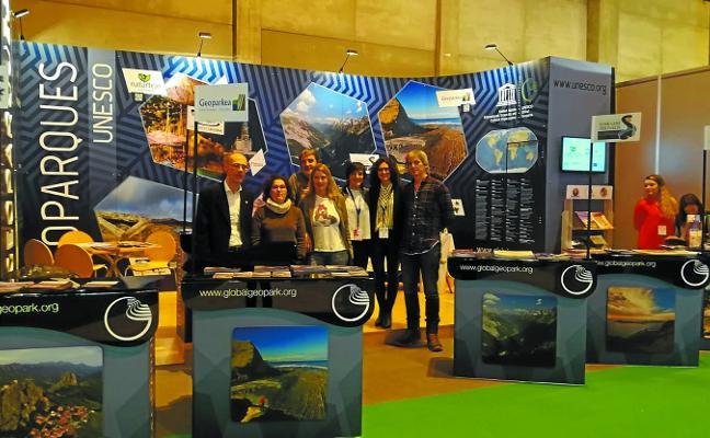 Geoparkea presentará en Fitur la nueva revista de los Geoparques Mundiales Unesco