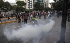 Enfrentamientos en Venezuela tras la autoproclamación de Juan Guaidó