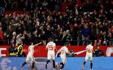 El Sevilla castiga la alineación indebida de Valverde