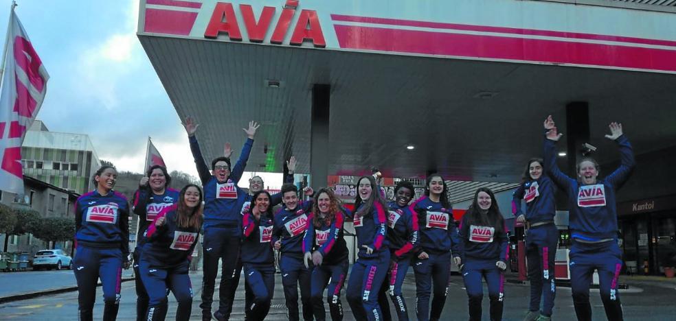 El Avia Eibar femenino logra un histórico triunfo en casa del Getxo