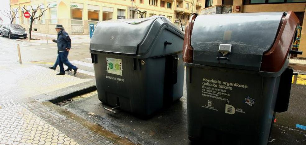 Extender los contenedores inteligentes de Amara y Gros a toda Donostia ahorraría 400.000 euros anuales