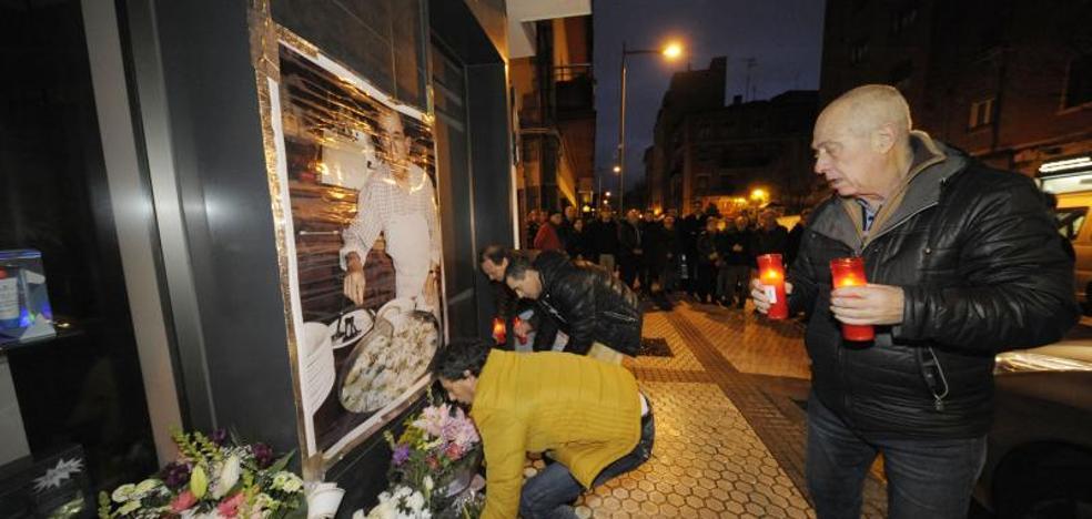 Familiares y amigos homenajean en Loiola al cocinero Ramón Díaz, asesinado por ETA hace 18 años