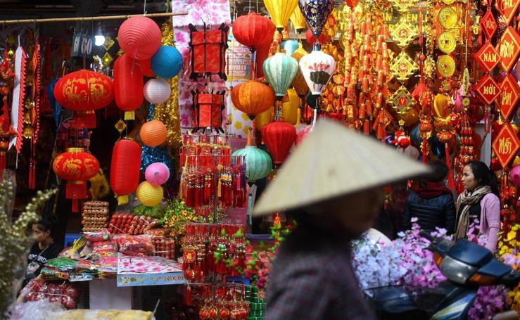 Vietnam se prepara para el Año Nuevo Lunar