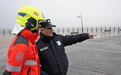 La ciclogénesis 'Gabriel' deja rachas de viento de 135 km/h en Donostia