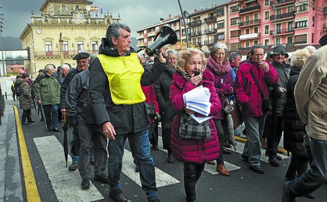 Gipuzkoa, ajena a las grietas abiertas en el movimiento de pensionistas de Bizkaia
