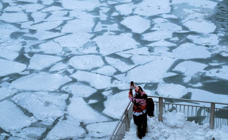 Una ola de frío polar extremo congela el medio oeste de EEUU