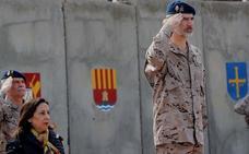 El Rey, a las tropas en Irak: «Con vuestro trabajo contribuís a la seguridad de todos»