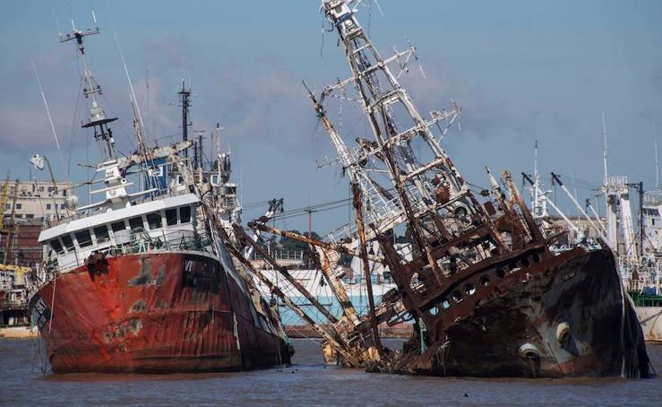'El cementerio de barcos'