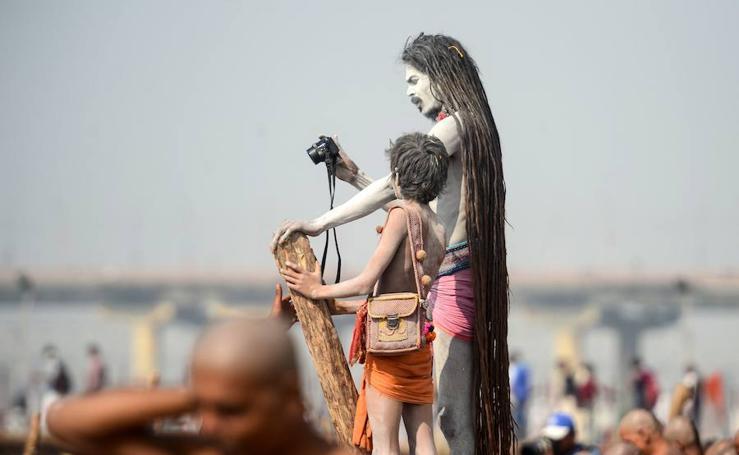 Los 'Naga Sadhus'