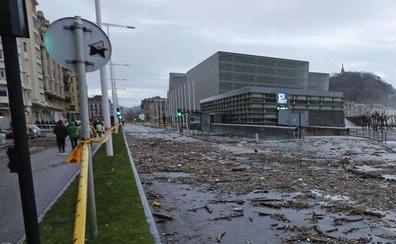 El 'tsunami' que arrasó la costa de Gipuzkoa