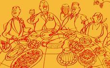 El decálogo de la cocina española en 1964