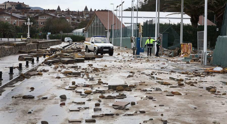 Cinco años del 'Tsunami' que arrasó la costa guipuzcoana