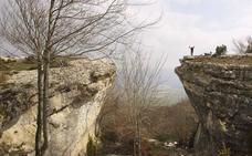Un hayedo infinito en el monte alavés San Cristóbal