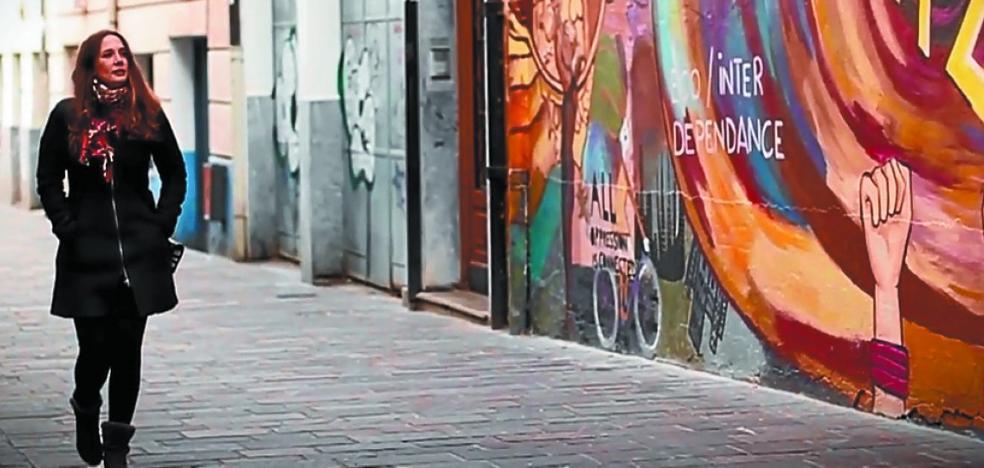 Irantzu Lekue pintará el mural fallido de la Avenida en el colegio San Martín