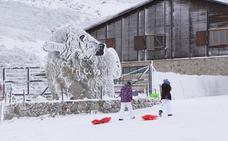 La nieve arranca en toda España