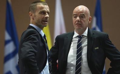 Nadie desafía la continuidad en FIFA y UEFA