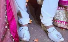 Misión: robar los zapatos del novio