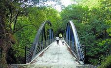 La Vía Verde del Urola completará sus 36 kilómetros con el tramo Iraeta-Narrondo