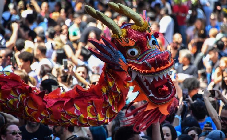 La danza del dragón, en Brasil