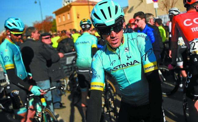 Jon Izagirre, en posición de privilegio ante la etapa reina