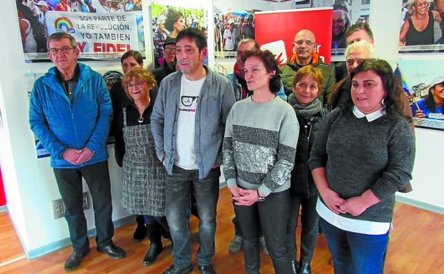 Merino, cabeza de lista de Ezker Anitza-IU, propugna una unidad popular de izquierdas