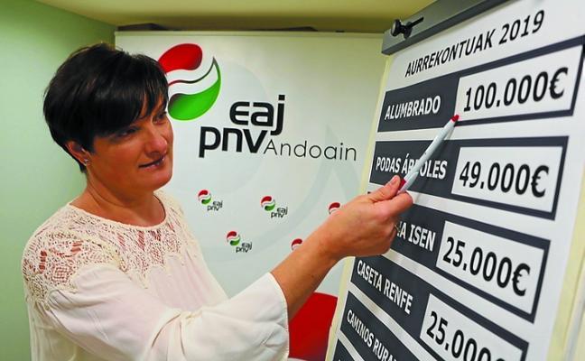 El PNV presentará enmiendas al proyecto de presupuesto por importe de 584.000 euros