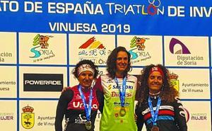 Gema Hernandezek bigarren postua lortu zuen Espainiako Triatloi Txapelketan