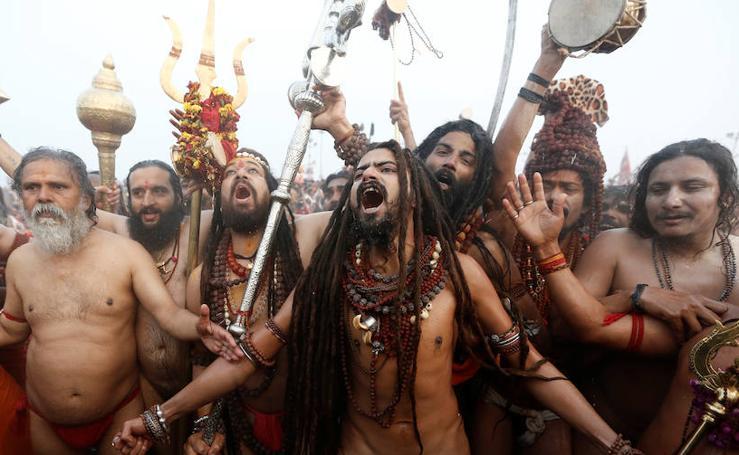 Un peregrinaje del hinduismo