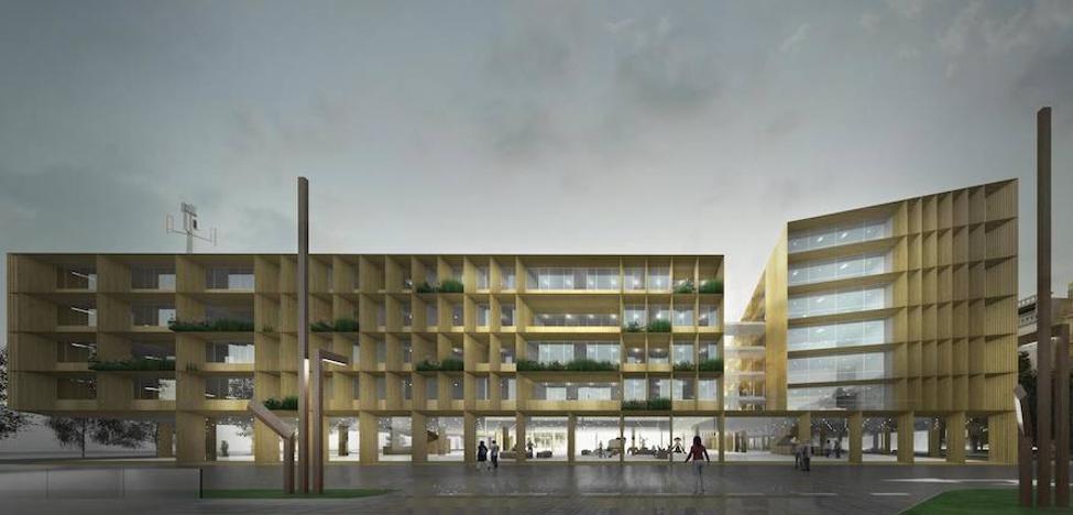 A finales de año arrancan las obras del centro Adinberri en Pasaia, que estará en marcha en 2022