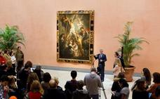 Otro Rubens se instala en el Palacio de Villahermosa