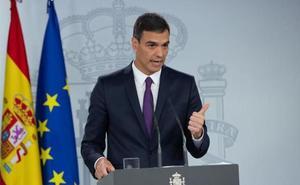 Sánchez amenaza con un adelanto electoral al 14 de abril si le tumban los Presupuestos