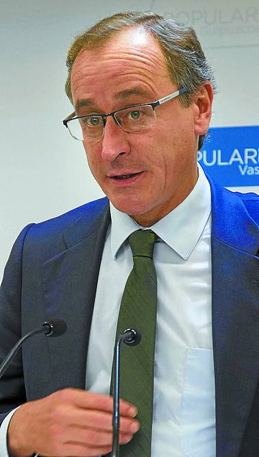 Alfonso Alonso: «Fue un suceso grave que buscaba quebrar la unidad de España»