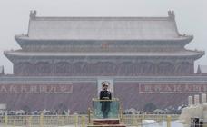 Pekín bajo la nieve