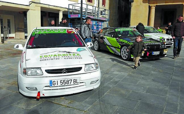 Alta participación en la fiesta del motor organizada por Mendi Mendia Racing
