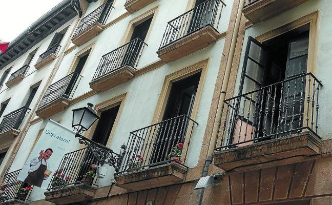 Un 27% de las viviendas de Donostia podrá dividirse en dos