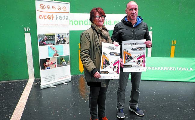 El frontón Jostaldi acogerá el sábado campeonatos de boccia y slalom