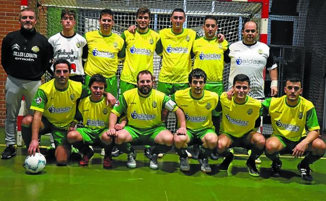 El Ventanas ISU Eguzki de Segunda provincial venció (5-7) en Pasaia