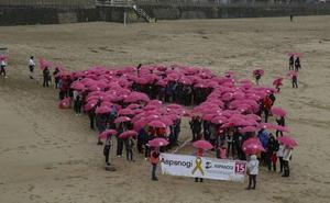 Aspanogi celebrará este domingo su marcha nórdica solidaria