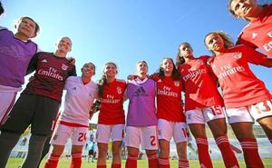 El Benfica femenino deslumbra: 16 goles por partido y la portería a cero