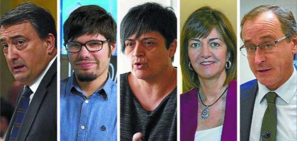 El juicio del procés divide a la política vasca