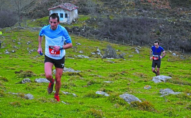 Imanol Larrañaga 'Bittori', vencedor de la carrera de montaña Kobaz Koba Trail