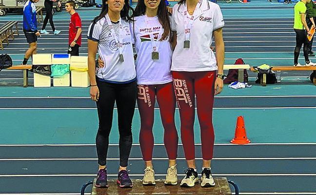 Oro para Nerea Sasiain en el Campeonato de Euskadi Absoluto de 400 metros